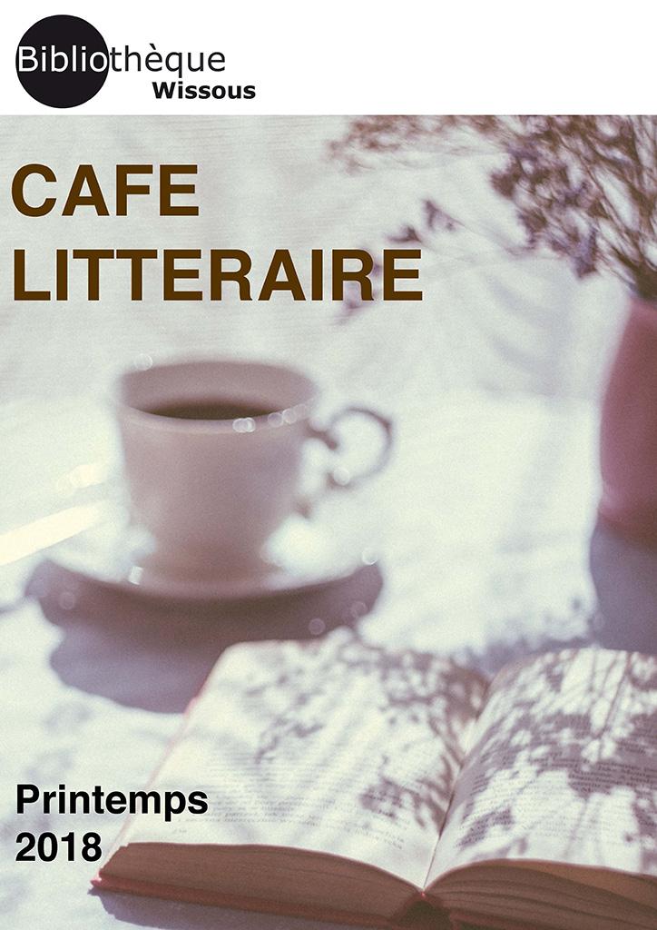 Café littéraire avril 2018