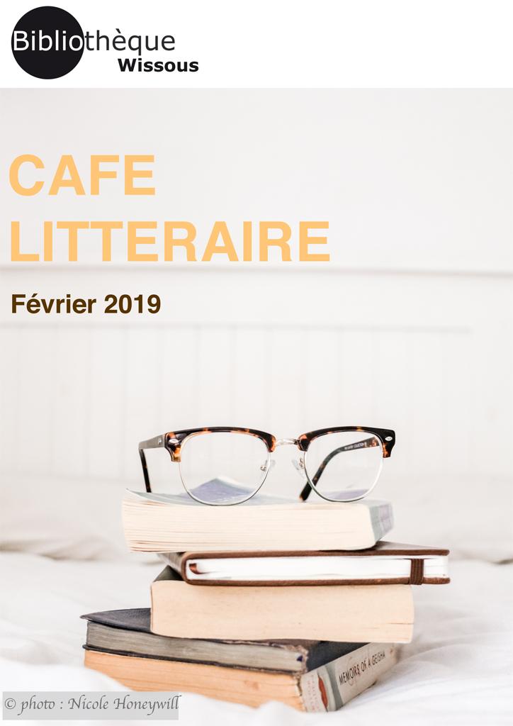 Café littéraire février 2019