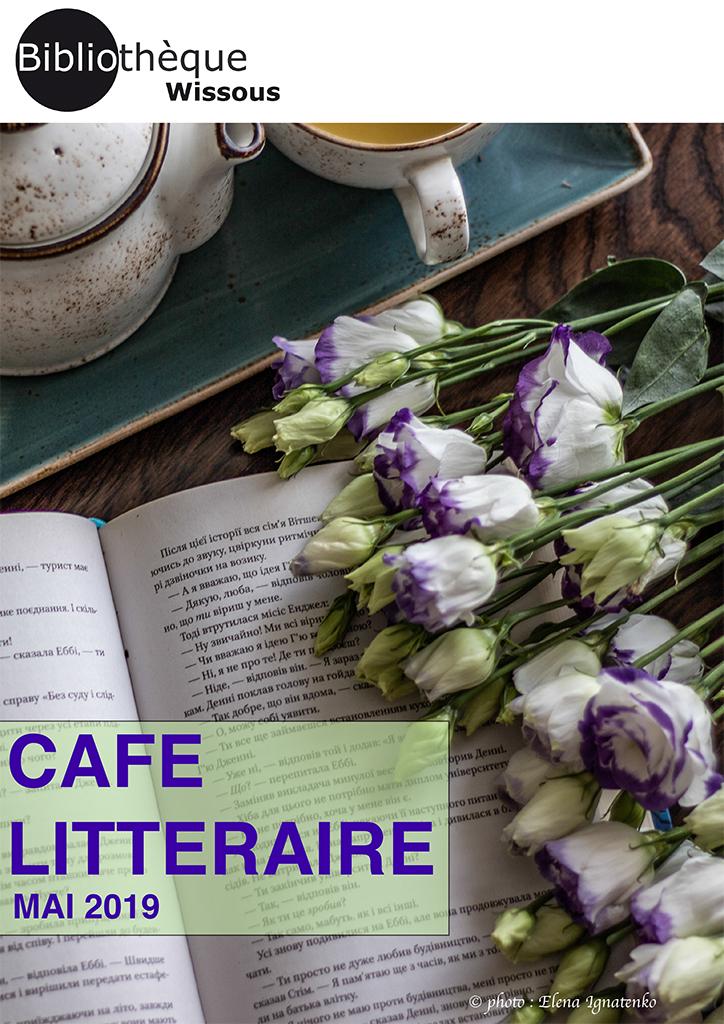 Café littéraire mai 2019