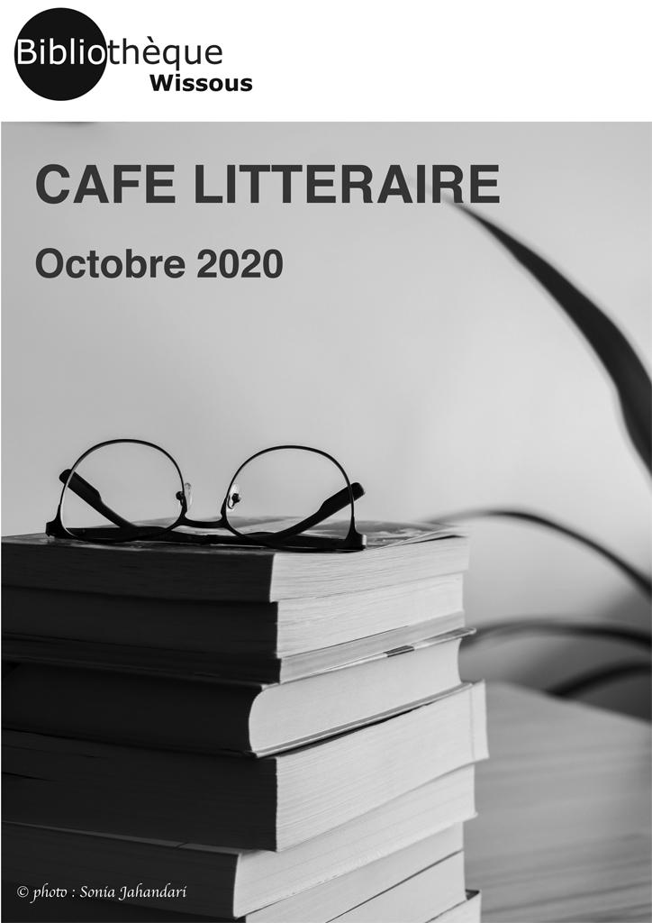 Café littéraire octobre 2020