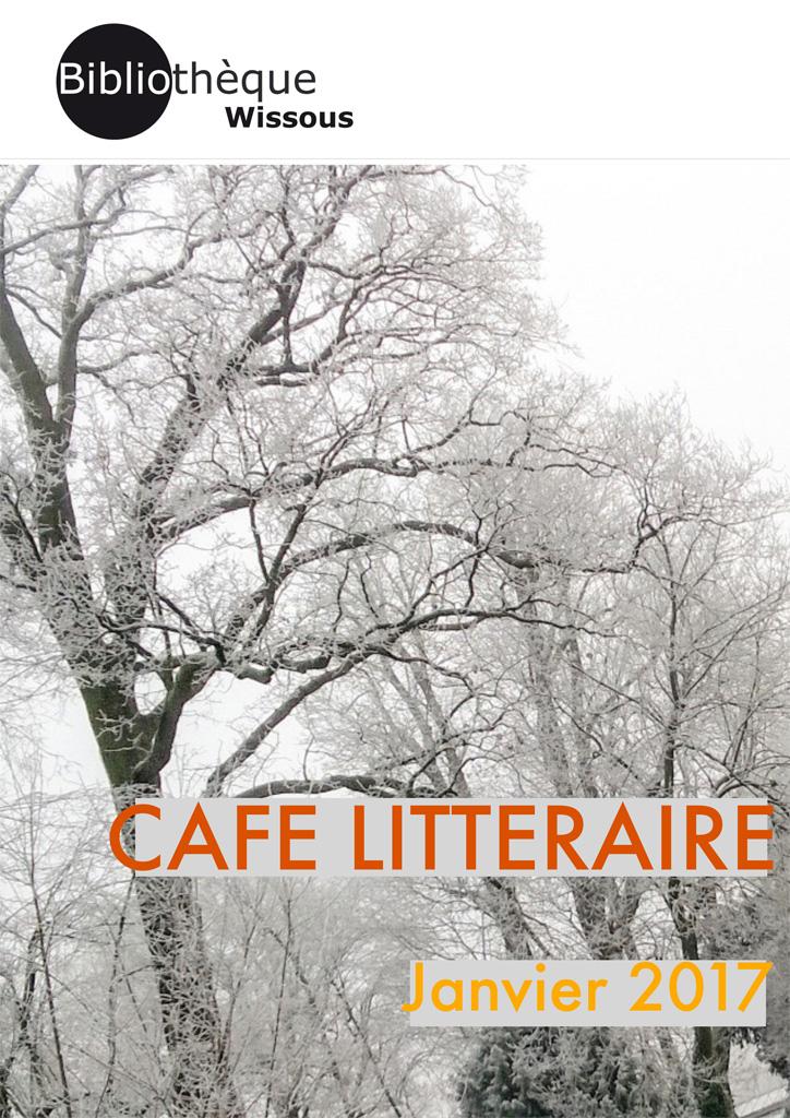 café littéraire janvier 2017