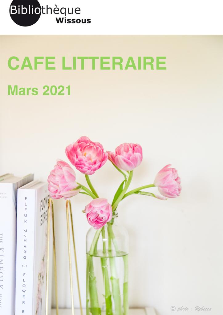 Café littéraire mars 2021