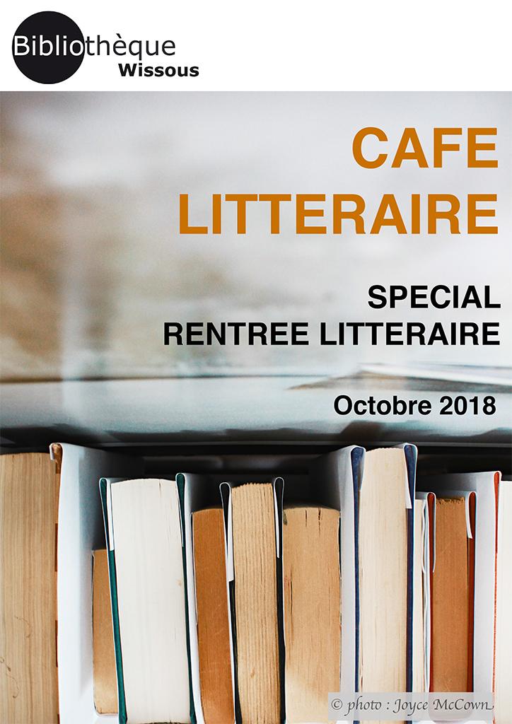 Café littéraire octobre 2018